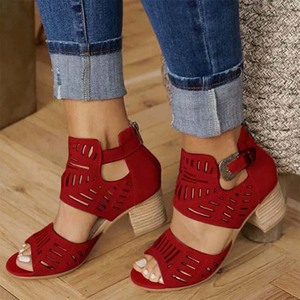 Femmes été sandales offre spéciale talon haut confortable sandales doux Rome rétro Style confortable marche sandales