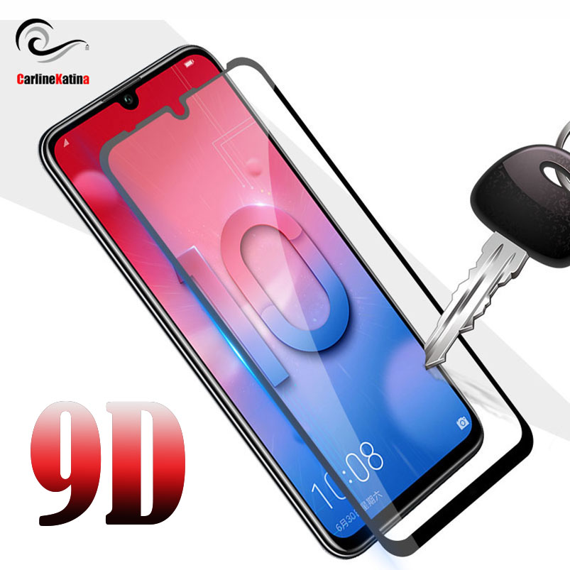 10D FULL COVER HD CURVED TEMPERED GLASS SCREEN PROTECTOR FOR HUAWEI P SMART 2019