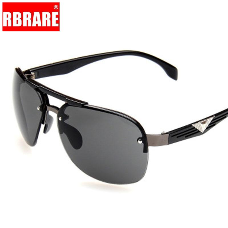 RBRARE 2019 Big Frame Classic Sunglasses Man Driving Sun Glasses Women Brand Designer Vintage UV400 Driving Oculos De Sol