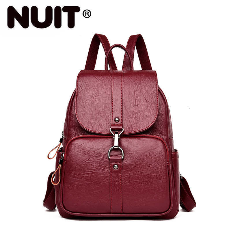 Women Leather Backpacks Large Capacity Travel Back Pack Sac A Dos Designer Female Backpack High Quality Ladies Bagpack New