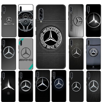 Mercedes Car Silicone Phone Case Cover for Samsung A3 A5 A6 Plus A7 A8 A9 A2 Core A51 A71 A81 A91 A11 A21 A41 Cover image