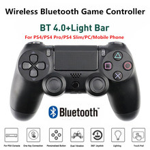 PS4 Controller Wireless Game Joypad Bluetooth Gamepad Controle Joystick Double-Motor Vibration 4 Sem Fio Para PS4 PC Smart Phone