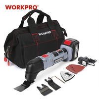 WORKPRO Electric Multifunction Oscillating Tool Kit Multitools Lithium ion Oscillating Tools Electric Trimmer Saw|Oscillating Multi-Tools| |  -