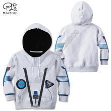 Одежда с астронавтом худи 3d принтом детский пуловер свитшот