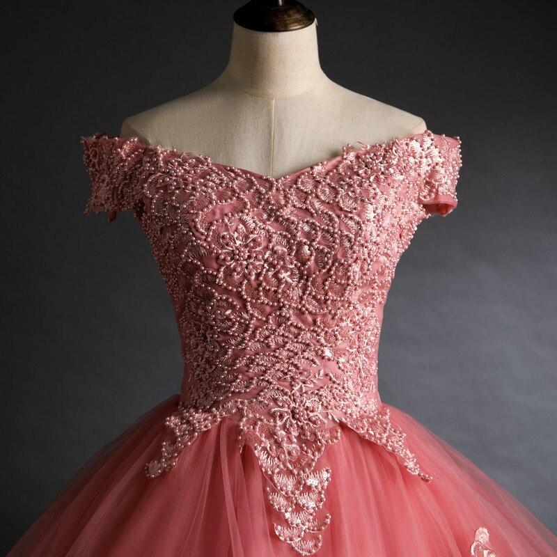 Fora do ombro vestidos para quinseanera vestido