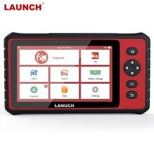 LAUNCH – CRP909 outil de Diagnostic automobile, lecteur de Code OBD2, Scanner pour tout système, ABS, DPF, Service de réinitialisation, ODB