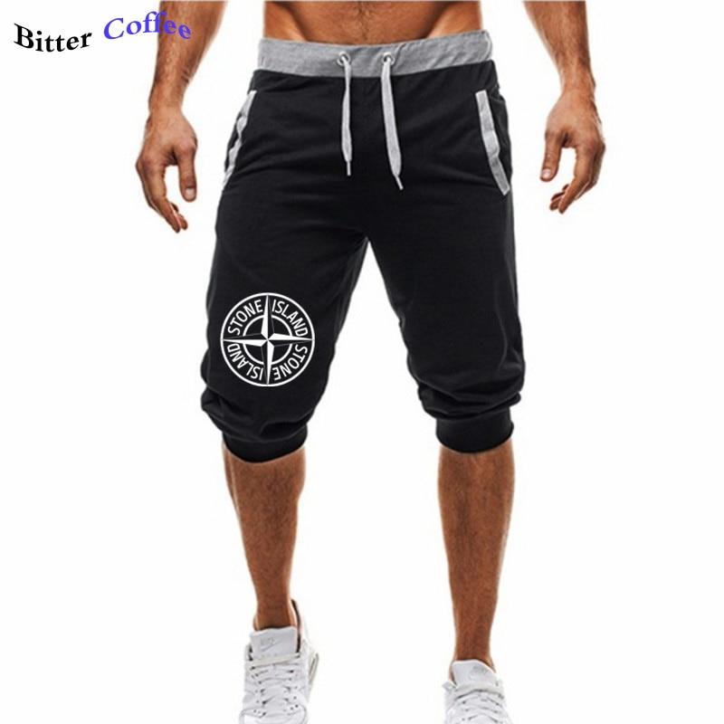 Fashion Casual Sweatpants Men Gedrukt Fitness Steen Is Land Sebs Jazz Seb's Muziek Mens Standaard Sports Man's Shorts Clothing