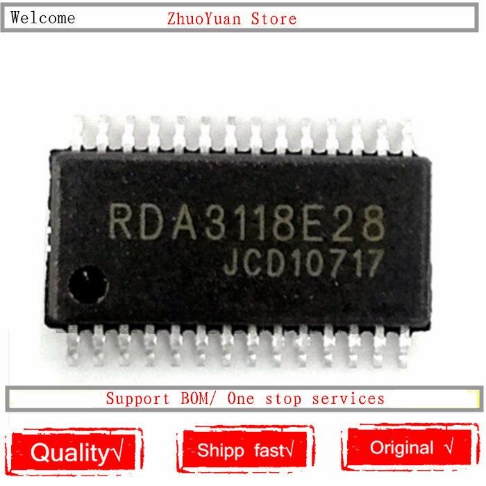 1 шт./лот RDA3118E28 RDA3118 TSSOP 28 новая Оригинальная микросхема|Голосовые модули распознавания/управления|   | АлиЭкспресс