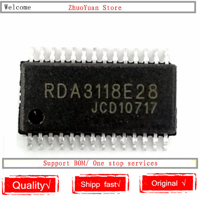1PCS/lot RDA3118E28 RDA3118 TSSOP-28 New Original IC Chip