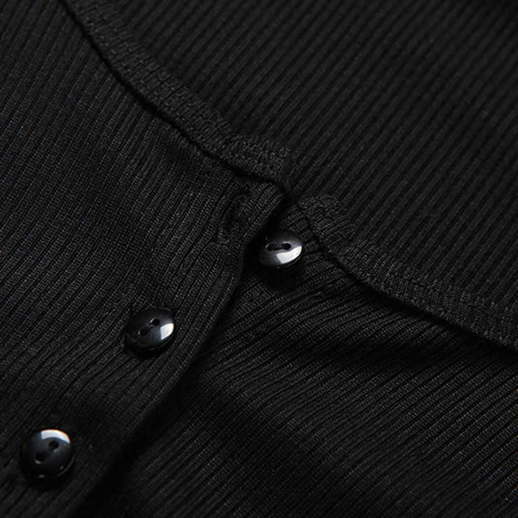 夏の女性の tシャツ作物リブニットカーディガントップ半袖ファッションクロップトップスキニーボタン tシャツの女性は famale