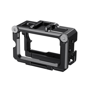 Image 3 - SmallRig Vlog Cage for DJI Osmo Action (Compatible w/ Microphone Adapter) Compatible w/ the CYNOVA Dual 3.5mm USB C Adapter 2475