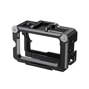 Image 3 - SmallRig Vlog kafesi DJI Osmo eylem (uyumlu w/mikrofon adaptörü) uyumlu w/CYNOVA çift 3.5mm USB C adaptörü 2475