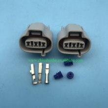 Shpping livre 10/20/50/100 unidades/lotes 3 pinos fêmea/maneiras veículo velocidade sensor automóvel selaed conector 6189-0027
