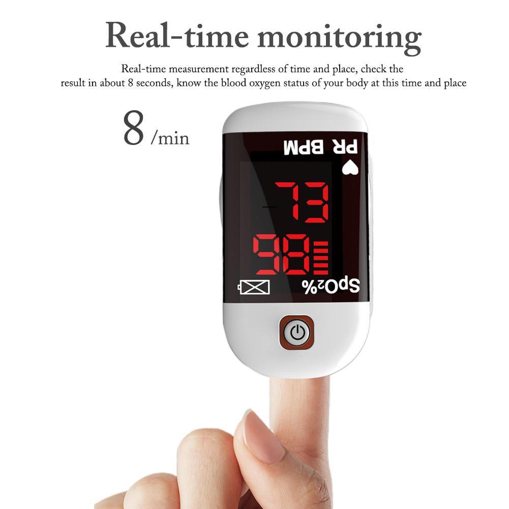 Finger Clip Oximeter Fingertip Pulse Oximeter De Dedo Pulso Oximetro Home Family Pulse Oxymeter Pulsioximetro Finger Pulse Oxime