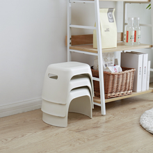 Plastic low stool children non-slip small bench fashion shoes bench thick and firm  home kids furniture kids chair baby seat