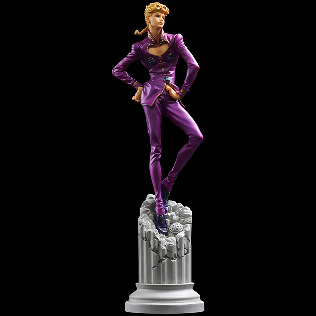 15cm JOJOs Bizarre Adventure Ballpoint Pen Giorno Giovanna Action Figure Toys Doll Christmas Gift With Box