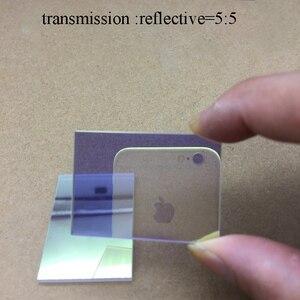Оптический стеклянный полуобратный полутрансмиссионный Призма Spectre 50/50 видимый свет Spectre 420-680nm луч сплиттер Призма
