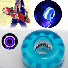 54mm Durable PU Skateboard Glow Wheels with High Elasticity Skateboard Accesaaory Flashing Roller ZJ55