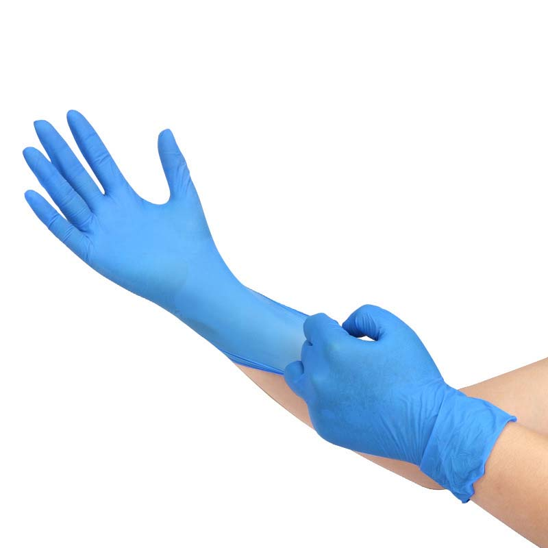 Labor Insurance Gloves Waterproof Rubber Latex Thickened Oilproof Gloves