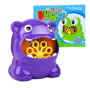 New outdoor frog automatic bubble machin