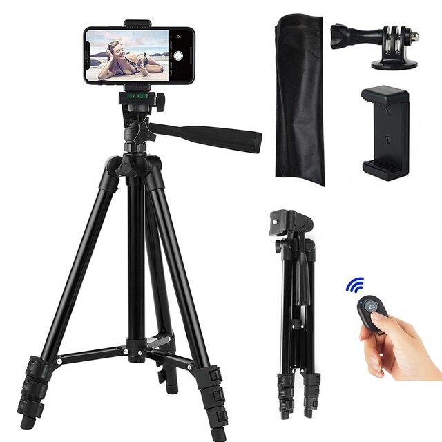 Trépied Smartphone support Portable téléphone Portable trépied pour téléphone trépied pour support pour téléphone Portable Selfie photo pour Mobile Tripie