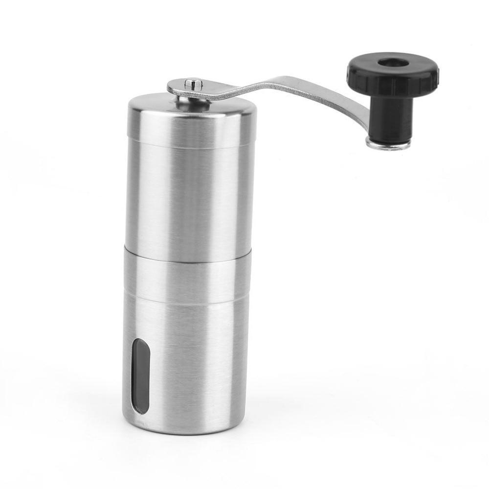 Stainless Steel Coffee Bean Grinder Hand Handmade Coffee Grinder Manual Mill Kitchen Grinding Tool|Manual Coffee Grinders| |  - title=