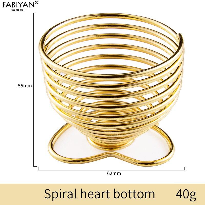 Gold heart bottom
