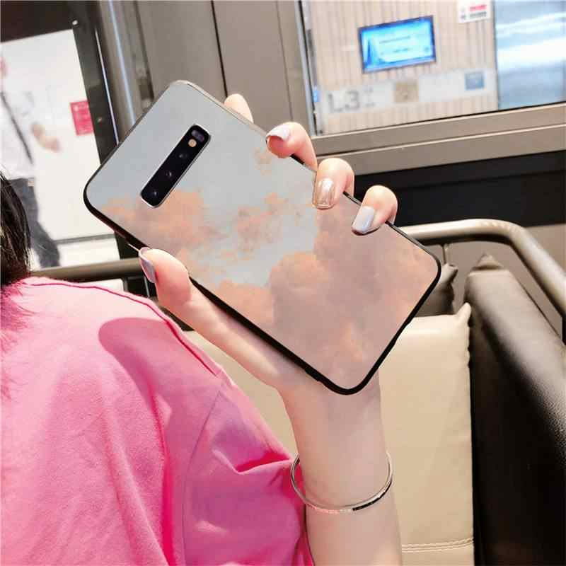 Gökyüzü tam fantezi Coque kabuk telefon kılıfı için Samsung S10 lite S9 artı A10 A20 A30 A40 A50 a50s A3 A7 A310 A72 A750 kılıfı