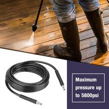 10m Cleaning High Pressure Washer Hose Cleaner Replaceable Steel Wire Hose Pipe 2320PSI for Karcher Clearance Sale