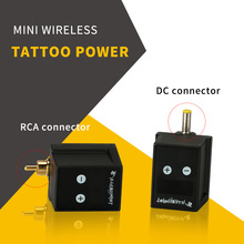 Tattoo Power Supply Mini Wireless For Automatic Matching Bank Tattoo Rotaty Machine Permanent Makeup Power Energy Efficient