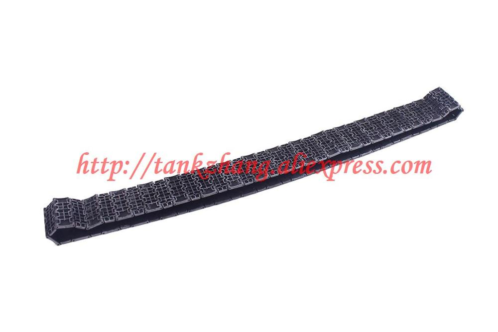 HENG LONG RC TANK PLASTIC TRACK REPLACEMENT FOR 3841-01 1//30 US M4A3 SHERMAN x 1