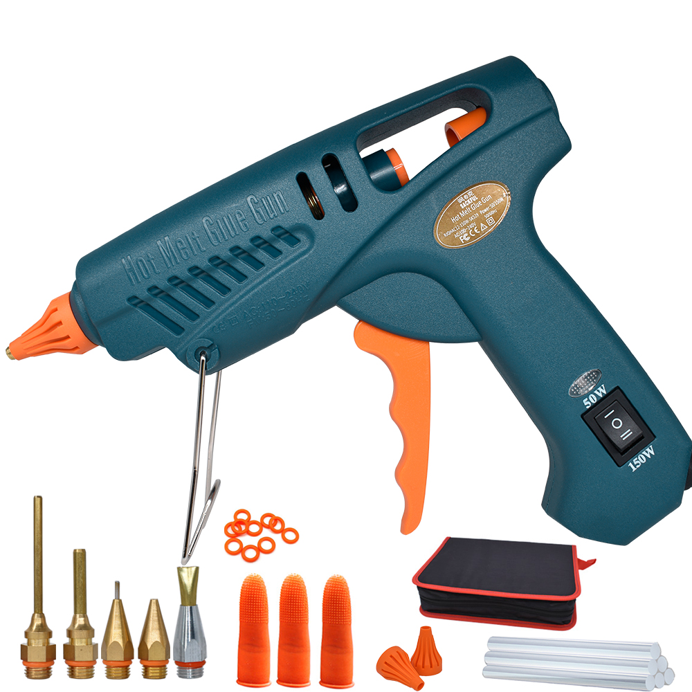 Work Pro 50W/150W Switchable Power Hot Silicon Gun Handmade DIY Tool Bag Glue For The Gun 11mm Support Pistolet With Glue