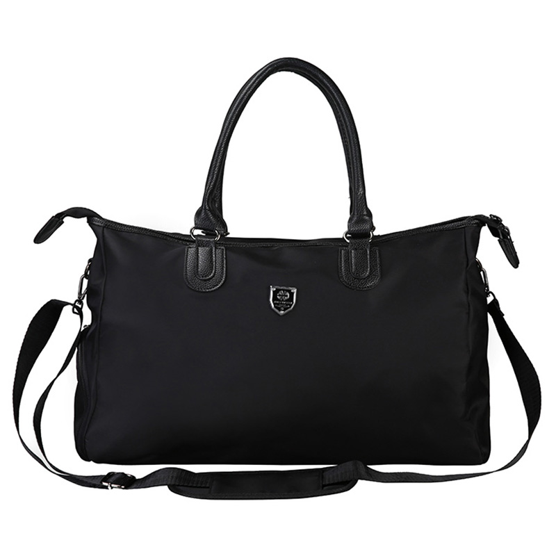 Gym Bag Sports Bags Big Mentraining For Shoes Lady Fitness Yoga Travel Luggage Shoulder Black