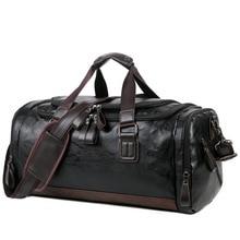 PU кожаный большой емкости дорожная сумка мужской деловой камера рюкзак корейской версии плеча руки