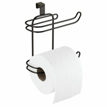 Dispenser Toilet-Tissue-Paper for Bathroom Storage Space-Saving Roll-Holder Hanging Compact