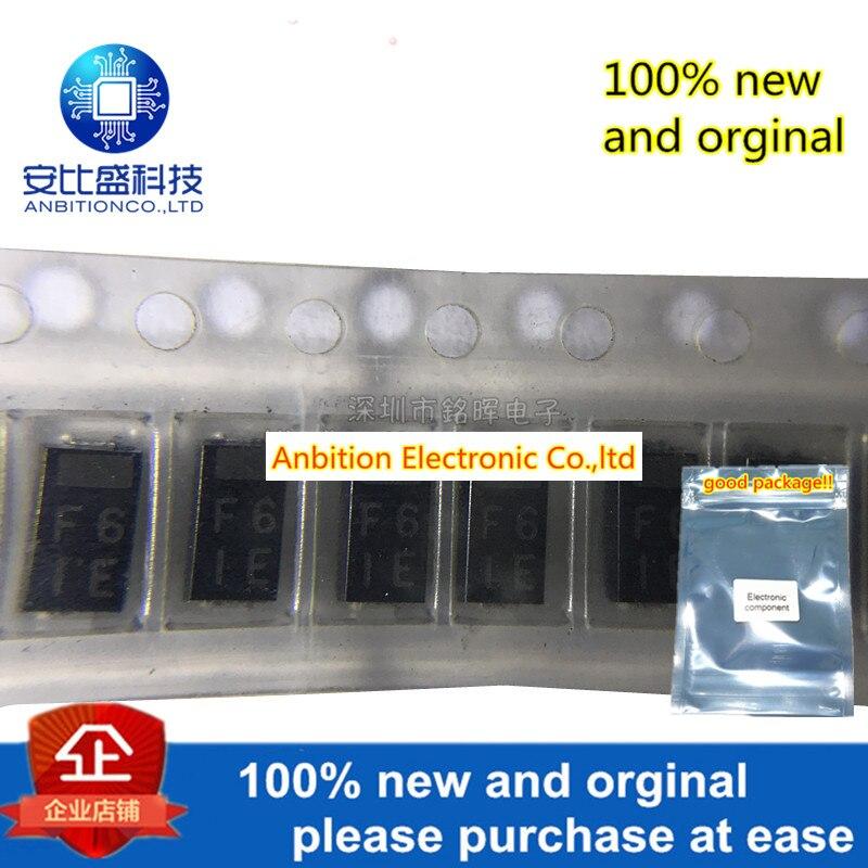10pcs 100% New And Orginal EC8FS6-TE12L EC8FS6 Silk-screen F6 SMA DO-214AC 600V In Stock