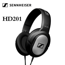 Headset Earphones Sennheiser Hd201 for Computer Noise-Reduction Sport Gaming Stereo-Bass