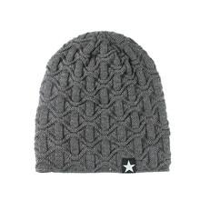 Мужские и женские Мешковатые теплые вязаные крючком зимние шерстяные вязаные лыжные детская Шапка-бини шапка с припуском мешковатая шапка шляпы сомбреро de invierno para hombre# PYS