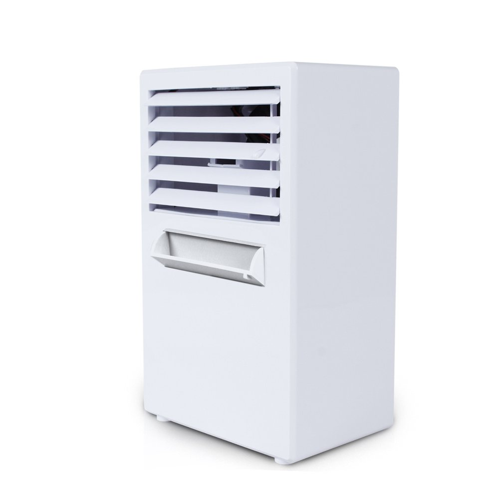 Hot Mini Portable Air Cooler Air Conditioner Humidifier Air Cooling Fan Bladeless Fan For Home Office Desk Personal Use EU