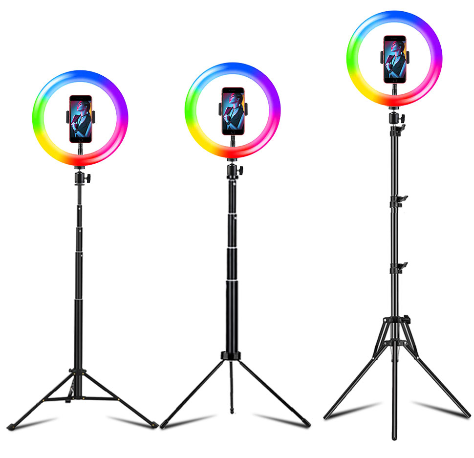 10 Polegada anel de luz led selfie