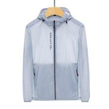 Clothing Jacket Sun-Protection Customization Anti-Ultraviolet-Printing Long-Sleeved