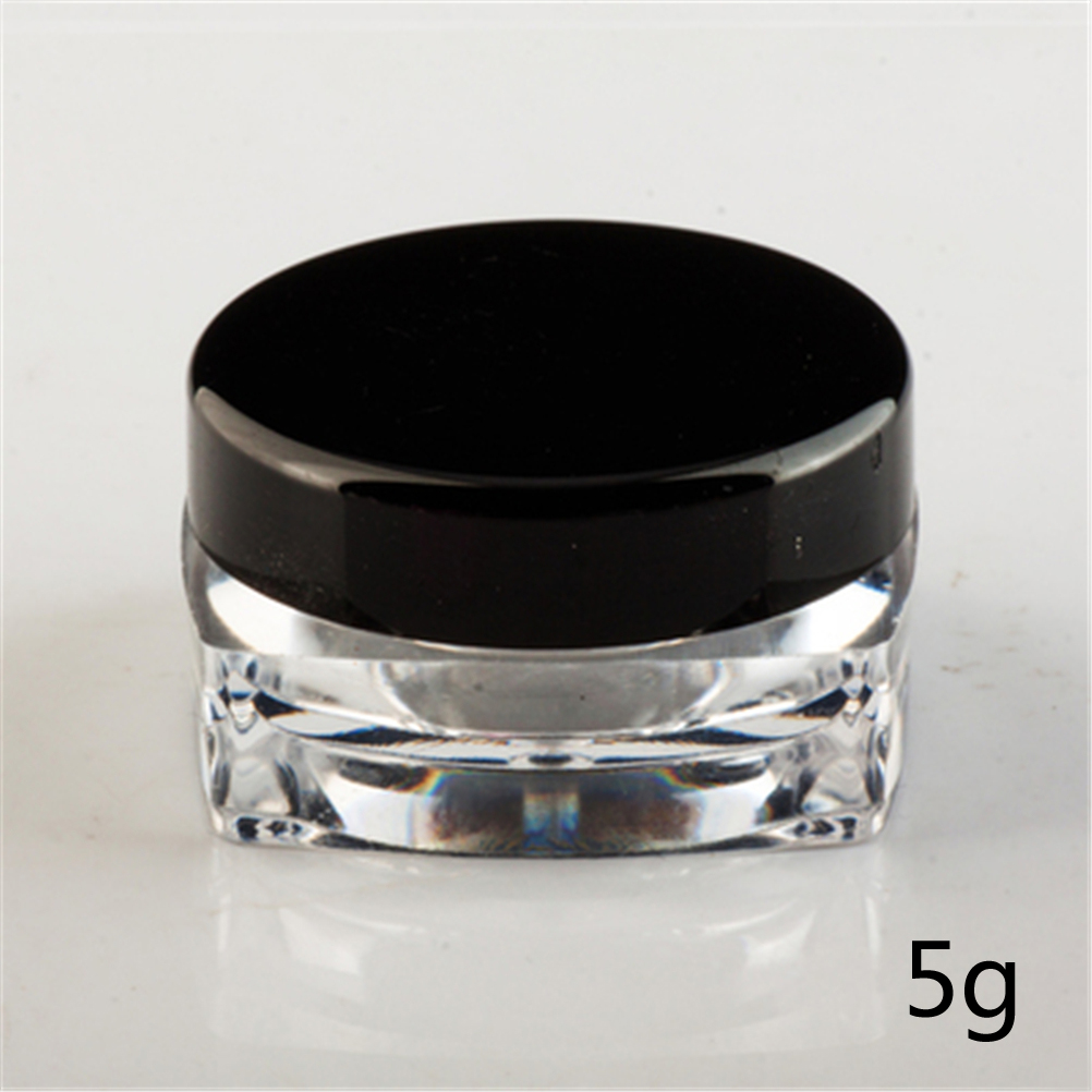 3/5g Travel Eyeshadow Makeup Face Cream Container Bottle Capacity Cosmetic Empty Jar Pot Skin Care Refillable Bottles