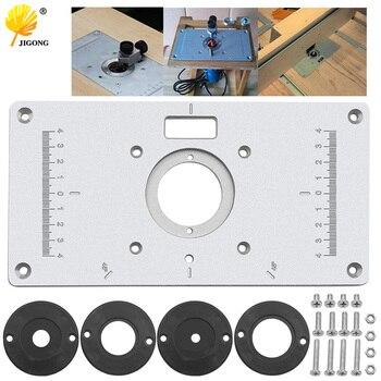 Máquina de grabado de modelos de enrutador de madera multifunción de aluminio Placa de inserción
