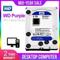 WD Original Blue 4TB Hdd Sata 3.5'' Internal Hard Disk disk Drive Disque Dur Desktop HDD for PC WD40EZRZ Western Digital