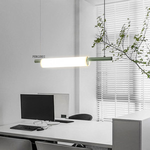 Image 1 - נורדי LED ברזל אמנות מים צינור תליון אורות תאורה הפוסטמודרנית לופט סלון ארוחת בר מנורת חדר שינה בר דקו אור גופי