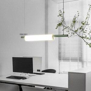 Image 1 - Nordic LED Iron Art Water Pipe Pendant Lights Lighting Postmodern Loft Living Room Meal Bar Lamp Bedroom Bar Deco Light Fixtures