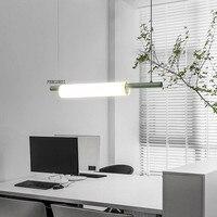 Nordic led żelazna sztuka fajka wodna wisiorek światła oświetlenie postmodernistyczna Loft salon posiłek lampa na barek sypialnia Bar Deco oprawy oświetleniowe w Wiszące lampki od Lampy i oświetlenie na