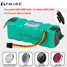 NI-MH Battery Vacuum-Cleaner Panda X500 Ecovacs CR120 3500mah for Mirror X900 X500x580