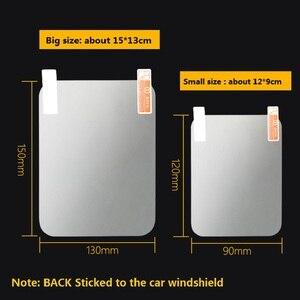 Image 5 - 10 adet 12cm * 9cm Yansıtıcı Film GPS HUD Otomobil Head Up Display araç ön camı Projektör Aksesuarları