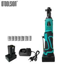 """3/8"""" Electric Wrench Kit With 1300mAh Rechargeable Li-ion Battery 25V Cordless Multifunctional Ratchet Wrench With Socket Tool"""